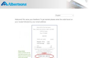 www.albertsons.com/survey